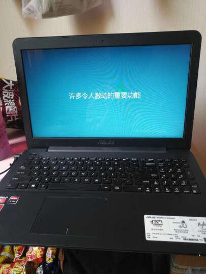 华硕(ASUS) 超薄笔记本电脑轻薄便携A555BP9410固态独显手提办公电脑 15.6英寸 黑色 独显2G A9-9410 8G内存+500G硬盘定制 晒单图