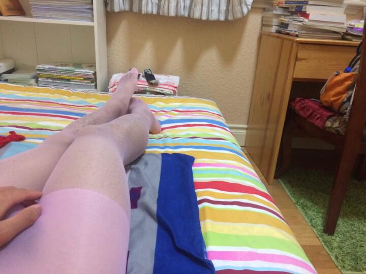 嫩房 20D多彩肉色超薄连身袜性感连裤袜诱惑连体丝袜 宝蓝 晒单图