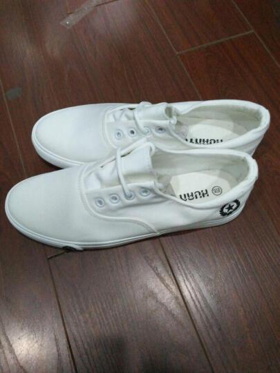 布鞋男士单鞋传统透气低帮老北京布鞋刺绣脸谱学生黑色42 蓝色 39 晒单图