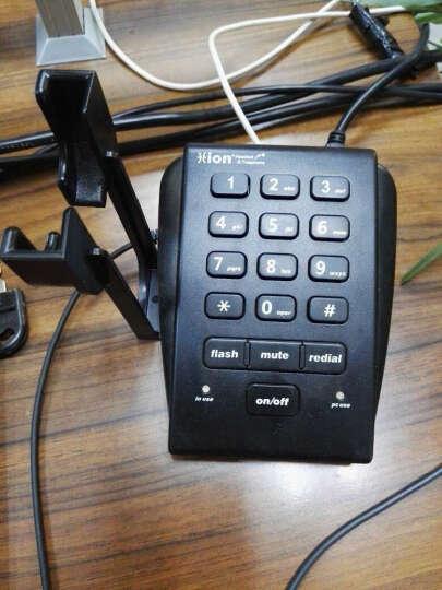 北恩(HION) U800录音电话机呼叫中心话务员耳机耳麦电话机耳麦配UC3软件 标配FOR630单耳 晒单图