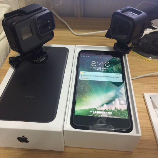 GoPro HERO5 Session 运动摄像机 4K高清 语音控制 机身防水 晒单图