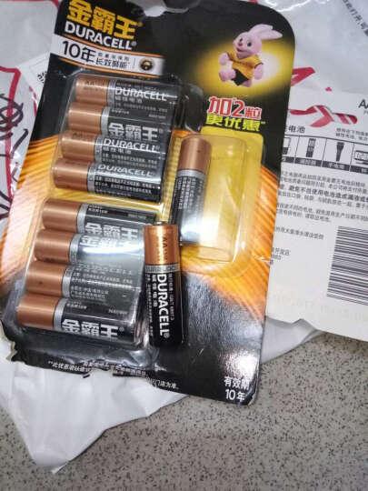 金霸王(Duracell) 7号电池2粒装(碱性电池)(适用于血压计/血糖仪/电动玩具) 晒单图