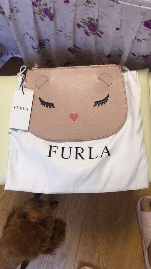 FURLA芙拉2017女款ALLEGRA系列裸色牛皮甜美轻奢手包手拿包850767 晒单图