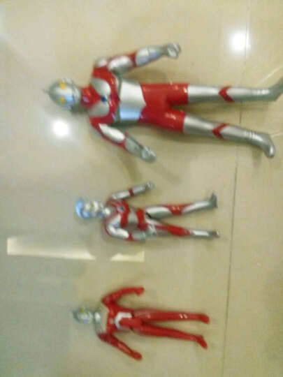 咸蛋超人(ULTRAMAN) 奥特曼玩具 儿童超人战士对战怪兽套装玩具 5只装(奥特蛋集合A款) 晒单图