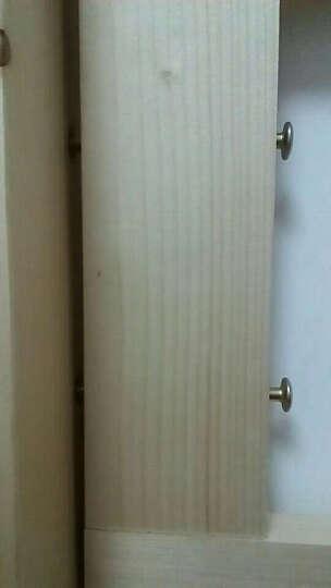 舒昕 包安装 F18床 实木床  松木床 上下铺 上下床 高低床 母子床 双层床 分体直梯下1.35上1.15长2.05 晒单图