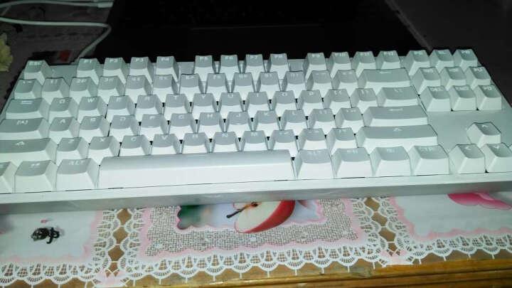 小米(MI) 小米键盘生态链悦米机械键盘游戏键盘红轴87键 小米机械键盘+小米无线便携鼠标 银色 晒单图