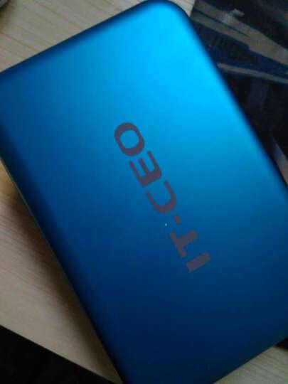 IT-CEO IT-735 USB3.0移动硬盘盒/底座 通用2.5/3.5英寸SATA/SSD固态硬盘 适用台式机笔记本硬盘 蓝色 晒单图