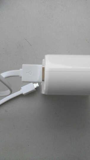 品胜(PISEN) 5V充电器 移动电源 手机通用型 车载充电器  USB充电器 新排插3个USB 单品 充电器 晒单图