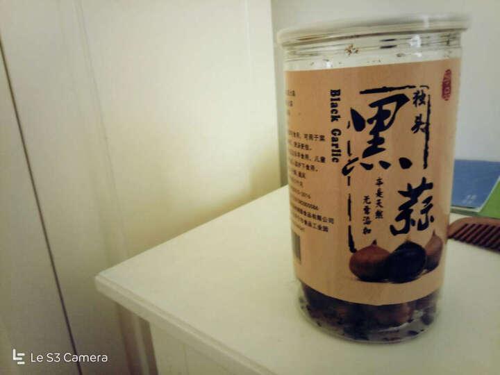 独头黑蒜500g/盒 山东金乡特产发酵独头黑大蒜 一罐装 晒单图
