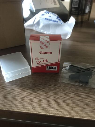 佳能(Canon)LP-E8原装电池 适用单反相机EOS 700D、600D、650D、550D LP-E8电池 晒单图
