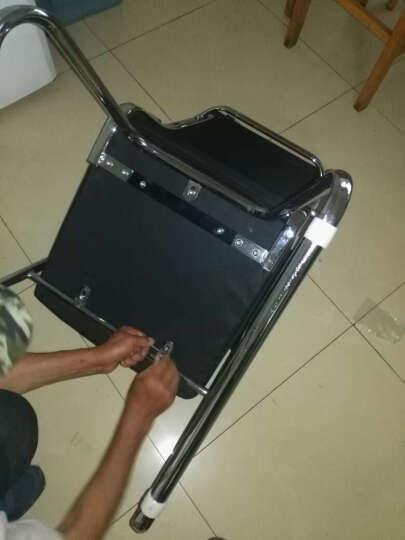 邻舍  电脑椅子 办公椅子家用舒适老板会议椅 人体工学弓形皮椅 浅棕色 晒单图