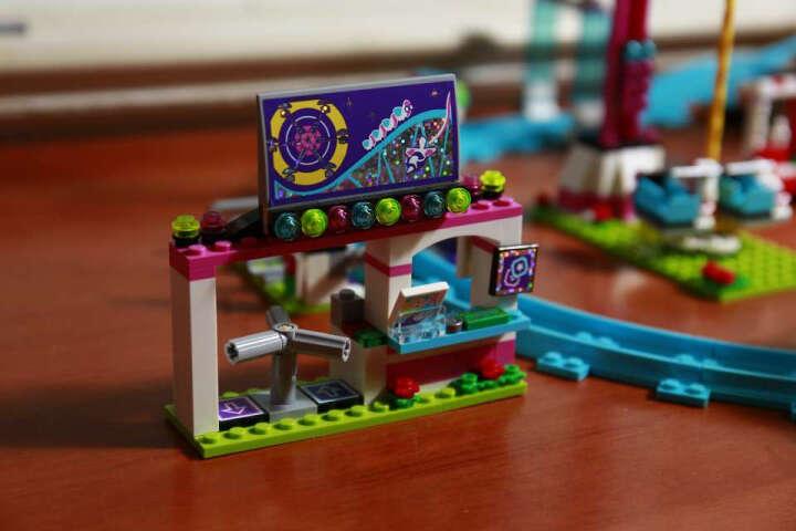 乐高 玩具 好朋友  Friends 8岁-12岁 游乐场大型过山车 41130 积木LEGO 晒单图