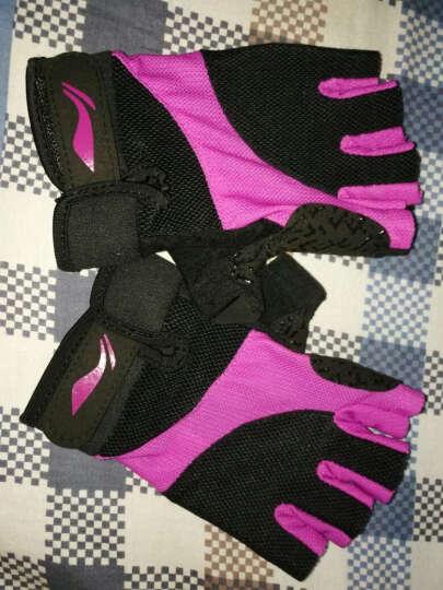 李宁 LI-NING 运动健身半指手套薄 骑行单杠哑铃器械防滑拔河护手套 户外夏季男女透气战术训练手套 晒单图