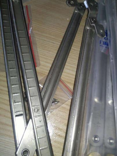 铝合金窗户风撑限位器 断桥铝平开窗 不锈钢滑撑杆支架 隐藏式内开内倒防风撑杆定位器 晒单图