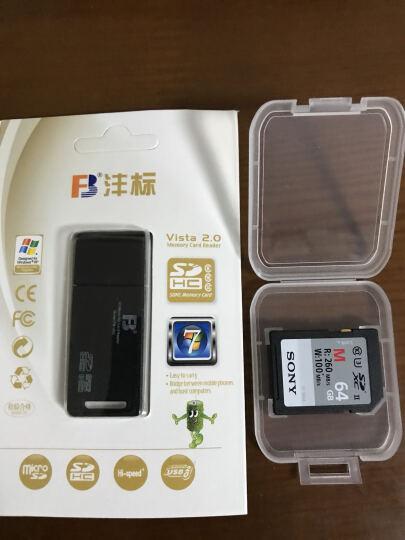 索尼(SONY) 高速SD卡存储卡相机内存卡32G/64G/128G微单数码相机摄像机 128G 260MB/s SF-M128 晒单图