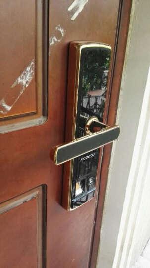 凯迪仕(KAADAS) 指纹锁5155Alock 智能锁密码锁 家用防盗门锁 电子密码锁 智能版亮铬银 晒单图