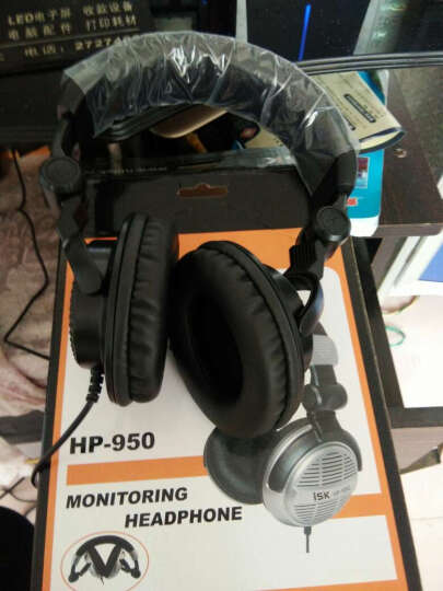 ISK HP-960B头戴式耳机 主播 网络K歌专用监听耳机 不带语音功能 晒单图