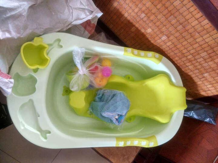 良品物语 婴儿洗澡盆新生儿浴盆宝宝沐浴盆儿童浴桶 粉色浴盆+浴板+T型浴网(送28件 脸盆款式随机) 晒单图