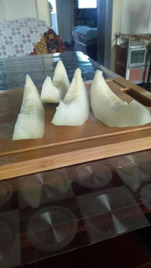 华润 美仑达 白玉脆蜜甜瓜 约2kg装 黄肉+白肉 大果2个装 新鲜水果 晒单图