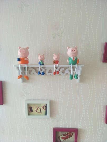 萌碎 可爱人物吊脚娃娃套装现代简约装饰摆件室内家居客厅创意客厅电视柜酒柜儿童房陶瓷工艺品 小猪佩奇(一套4个) 晒单图