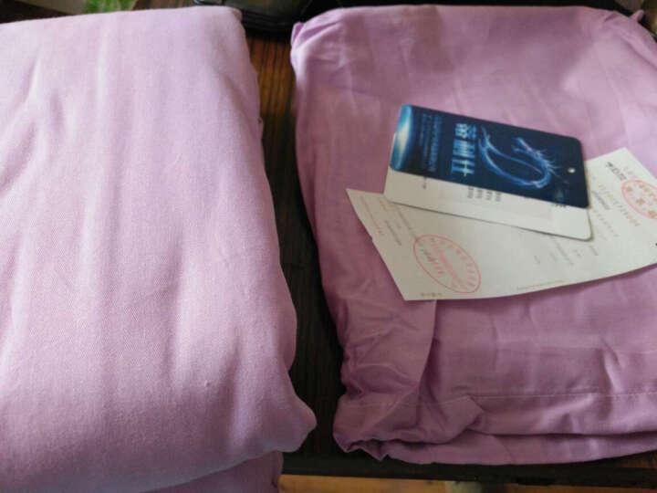 蒂利仕 棉睡袋户外成人春夏秋冬保暖午休超轻露营 信封式情侣棉睡袋  LY-5004 单人浅紫色80cm 晒单图
