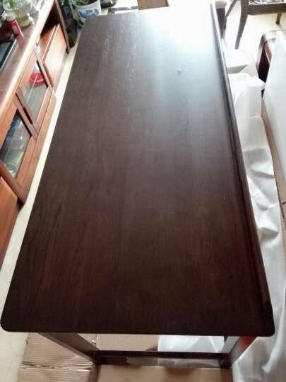 华谊家具 书桌梳妆台美式乡村实木书桌化妆桌实木写字台妆桌/妆凳 化妆桌 晒单图