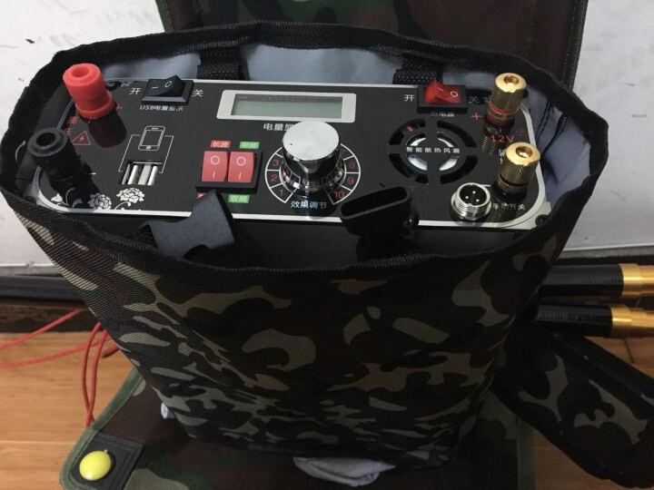 捕鱼逆变器浮力王锂电锂电池一体机电鱼逆变器机头全自动大功率升压器套件充电电鱼逆变器一体机 120AH+3米杆+背包+充电器 晒单图