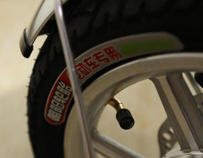 法克斯(FRRX) 折叠电动车自行车减震代驾车代驾宝 14寸助力锂电车男女通用 雅黑色(48V16A)约90公里 晒单图