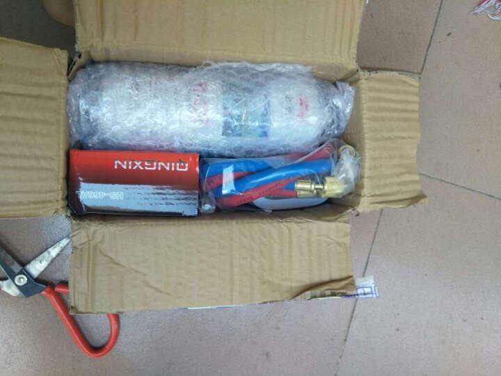 洋子(YANGZI) R22制冷剂家用空调加氟工具 汽车空调加雪种空调冷媒表加氟套装 空调定频加氟工具+2瓶R22冷媒 晒单图