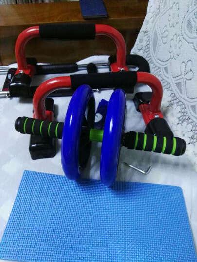 欣怡万嘉巨无霸健腹轮静音双轮收腹腹肌轮家用健身器材 巨轮滚轮 黑色 晒单图