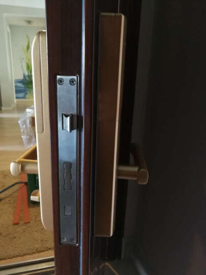 德施曼指纹锁 小嘀家用云智能锁防盗门锁指纹密码电子锁 云智能锁+蓝牙钥匙*2 右开(需与真锁方向相反) 晒单图