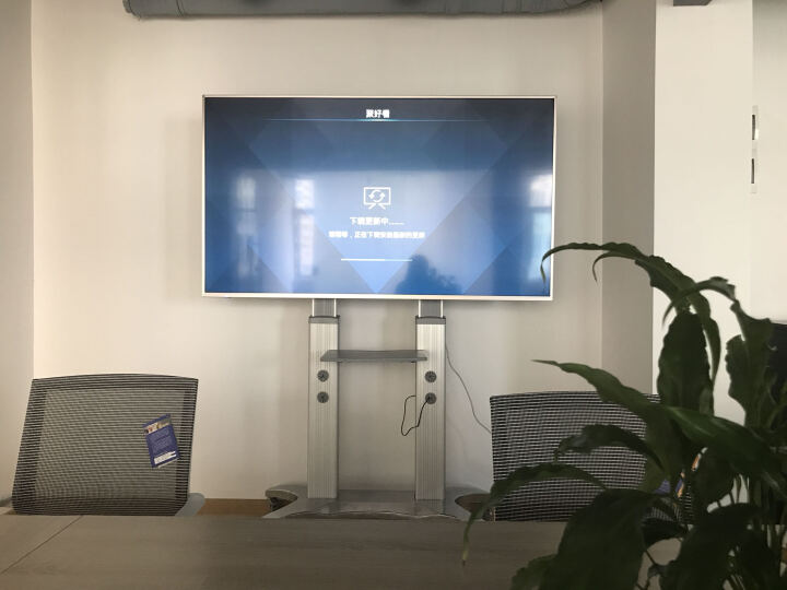 NB VF7017-S(55-80英寸)液晶电视支架落地通用电视架视频会议教学商用显示器移动推车触摸白板挂架 晒单图