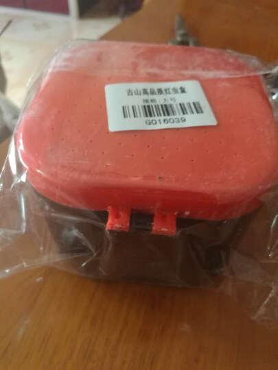 古山(GUZON) 加厚便携型 红虫盒蚯蚓盒 精致活饵盒双层设计透气保鲜 大号 晒单图