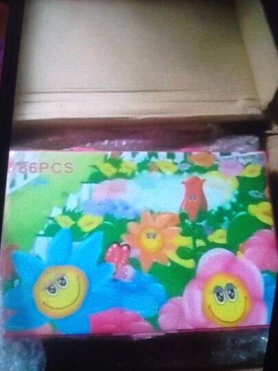 儿童画笔DIY卡通新公主儿童礼物绘画礼盒文具学生水彩笔儿童无毒绘画涂鸦彩色笔宝 86件蓝色 晒单图