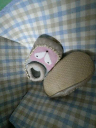 喜得瑞宝宝鞋袜0-1岁春浅口防滑点胶婴儿地板袜室内软底薄款学步鞋 卡通狐狸款(2双装) S码鞋底长11CM 晒单图