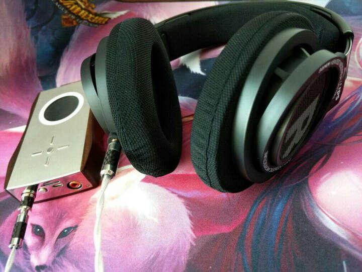 飞利浦 SHP9500加强版开放式耳机头戴式重低音HIFI发烧耳麦绝地求生吃鸡耳机 头戴式有线耳机 SHP9500 晒单图