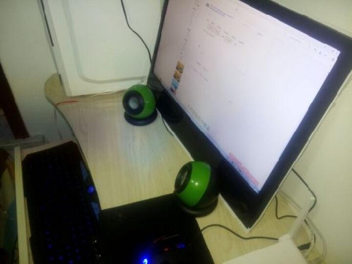 托瓦(TAMO)台式电脑音响低音炮手机迷你笔记本小音箱USB 玫瑰金影响 晒单图