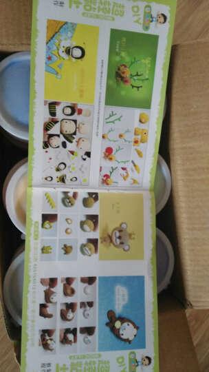 元派 超轻粘土儿童益智DIY手工太空彩泥沙无毒橡皮泥套装玩具 36色标准纸盒装 晒单图