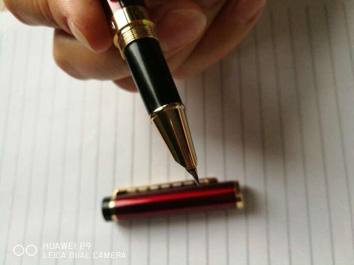 钢笔钢琴烤漆男女学生直尖书法签字笔美工笔 办公练字笔礼盒装 签字免费刻字 非京东自营 礼盒红色 0.38mm 晒单图