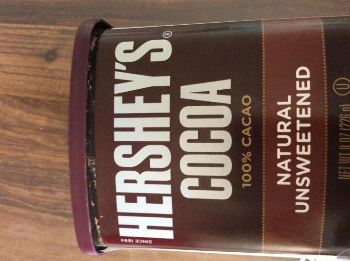 好时可可粉 牛轧糖材料巧克力粉 脏脏包毛巾卷装饰冲饮蛋糕饼干用粉 美国进口烘焙原料226g 晒单图