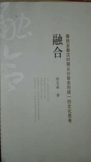 融合:春秋至秦汉时期从分裂走向统一的文化思考 晒单图