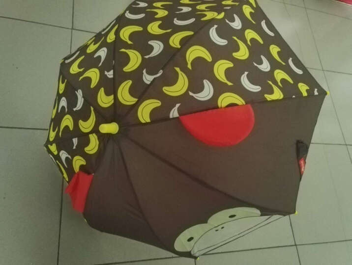 SKIP HOP可爱动物园小童雨伞 卡通图案遮阳伞-猴子 3岁以上 美国 晒单图