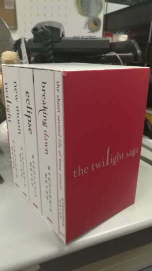 暮光之城 英文原版 5本全套 正版 Twilight Saga Book Set 晒单图