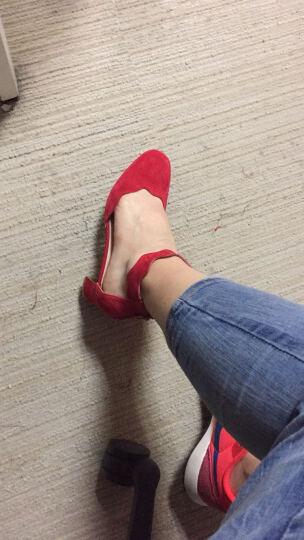 STACCATO/思加图春季专柜同款黑色羊皮女凉鞋9A704 黑色 36 晒单图
