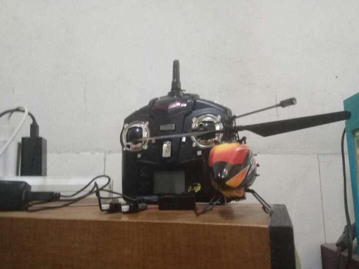 伟力之星(CREATPOWERSTAR) 遥控直升飞机无人机四通道单桨专业航模型V911 四锂电红色 晒单图