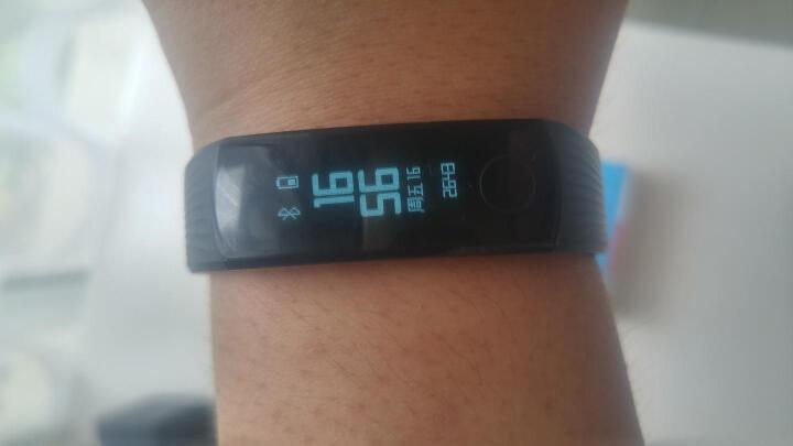荣耀手环3 智能运动 50米防水 24小时心率检测 科学睡眠监测 来电拒接 适配iOS&安卓 碳晶黑 晒单图