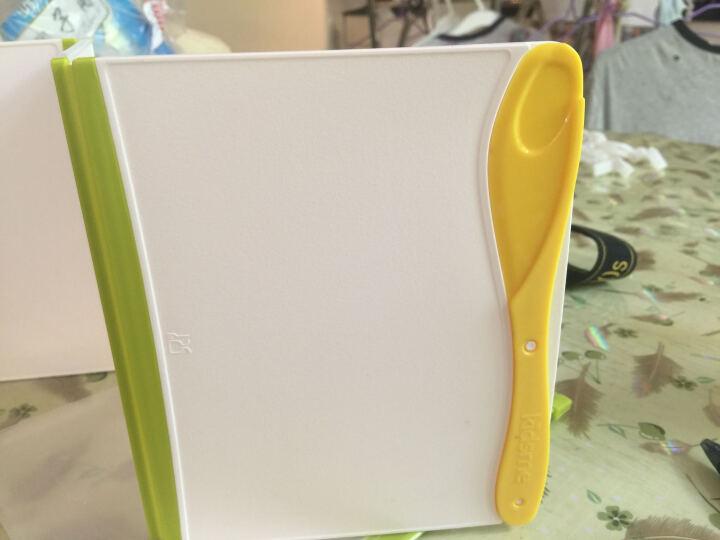 亲亲我(kidsme)婴儿折叠砧板 宝宝辅食切菜板水果案板 PP材质 防霉菜板 晒单图