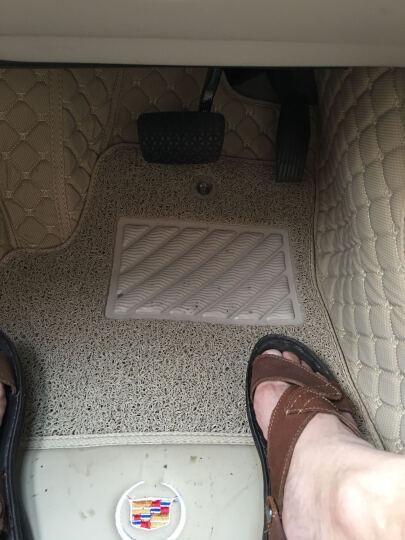 德溢豪18款途观L帕萨特CRV天籁A6L奔驰C级E级A4L蒙迪欧GLC凯美瑞GS8汽车脚 咖啡色单层脚垫 VV7标志5008凯迪拉克CT6讴歌CDX途乐 晒单图