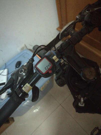 SAHOO 多功能16合一自行车防水码表公路车山地车英文防水有线码表 SD548B 黑色 晒单图