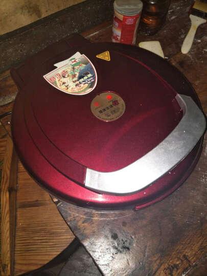 瑞航双面加热悬浮式煎饼铛32cm大号电饼铛 深红色 晒单图